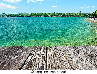 Lake Constance at Germany - Lake Constance (Bodensee) at...