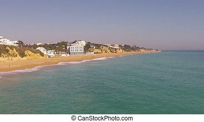 Aerial from Albufeira Portugal - Aerial from the south coast...