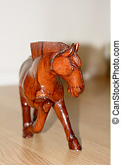 Wooden horse - This picture is the wooden horse. It is a...