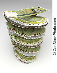 Iranian Rial Tower