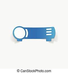 realistic design element: cinema projector
