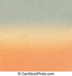 Abstract background with sky and clouds Vintage style Vector...