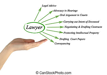 Functions of lawyer