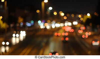 Defocused urban abstract texture ,blurred background with...