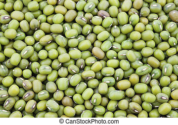 Mungo beans background Vigna radiata