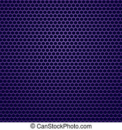 Perforated Background - Blue Perforated Background. Blue...