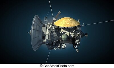 Cassini orbiter - Unmanned spacecraft similar with the...