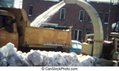 (8mm Film) Snow Removal 1968 - A unique vintage 8mm home...