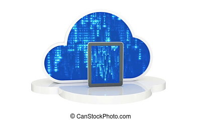 tablet computers with cloud