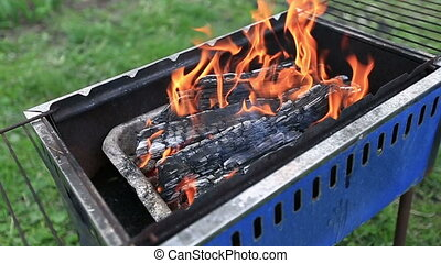 firewood to burn in mongale - burning firewood in mongale...