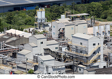 industrial plant. chemical industry. petrochemical industry.