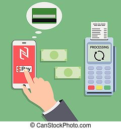 Mobile payments and near field communication Transaction...