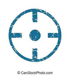 Grunge target  icon