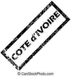 COTE D IVOIRE rubber stamp