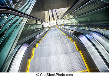 Airport moving sidewalk also travelator, walkalator and...