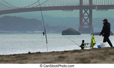 Baker Beach Fishing
