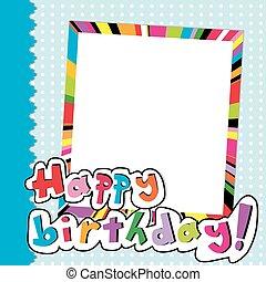 Happy Birthday scrapbook