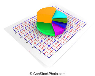 Pie Chart Shows Statistical Graphs And Graphics