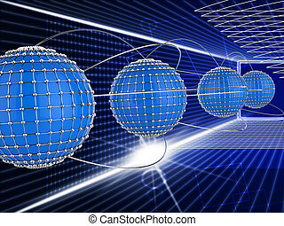 Interconnected Network Means Global Communications And...