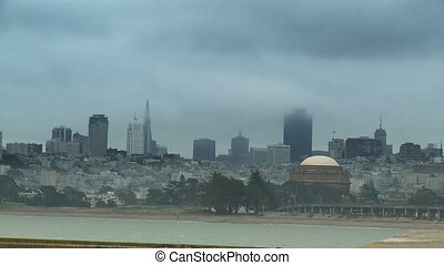 San Francisco Fog Time-lapse - Time-lapse of the San...