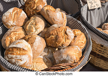 artisan bread - Artisan bread for sale in traditional store