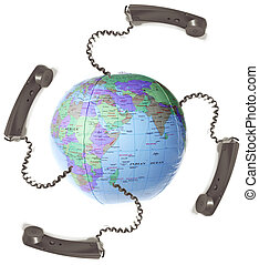 communication distant meeting - world wide communication and...