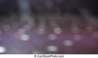 Disco Lights in night club - Abstract background of...
