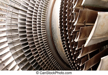 turbine machine part blades - water turbine machine part for...