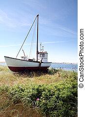 fishing boat trawler