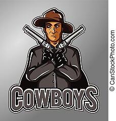 Cowboys Mascot