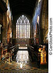 church interior window