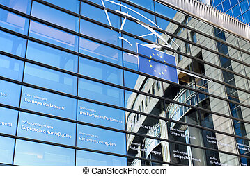 European Parliament - Brussels, Belgium - European...