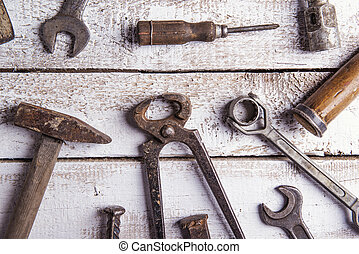 Mix of work tools