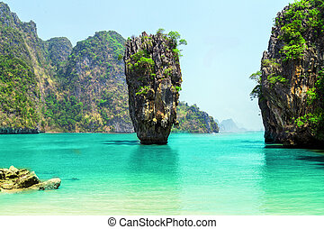James Bond Island, Phang Nga, Thailand - Thailand James Bond...