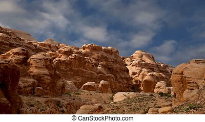 Mountains of Petra, Jordan, Middle East Petra has been a...