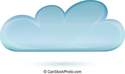cloud vector illustration icon deisgn symbol