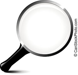 magnifying glass icon vector ilustration