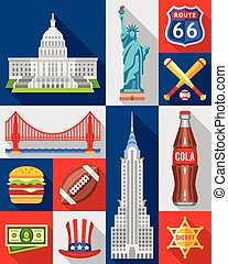 Vector Set of New York City - Vector set of New York city...