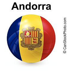 andorra official state flag