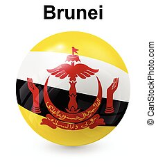 brunei official state flag