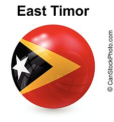 east timor official state flag