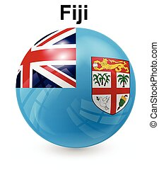 fiji official state flag