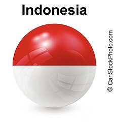 indonesia official state flag