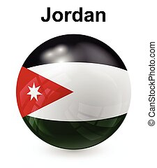 jordan official state flag