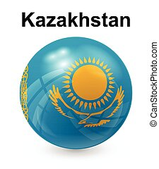 kazakhstan official state flag
