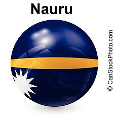 nauru official state flag - nauru official state flag