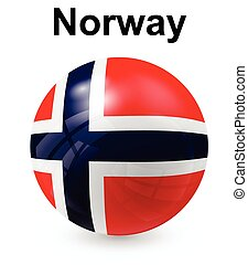 norway official state flag