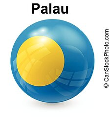 palau official state flag