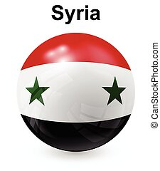 syria official state flag