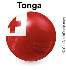 tonga official state flag